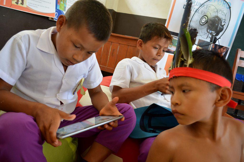 Educación Digital en la selva peruana