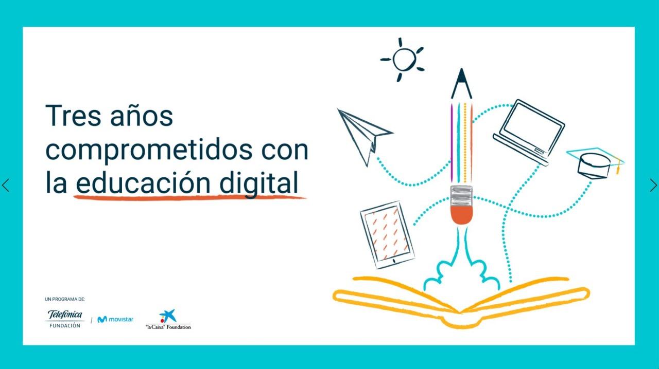 Tres años comprometidos con la Educación Digital