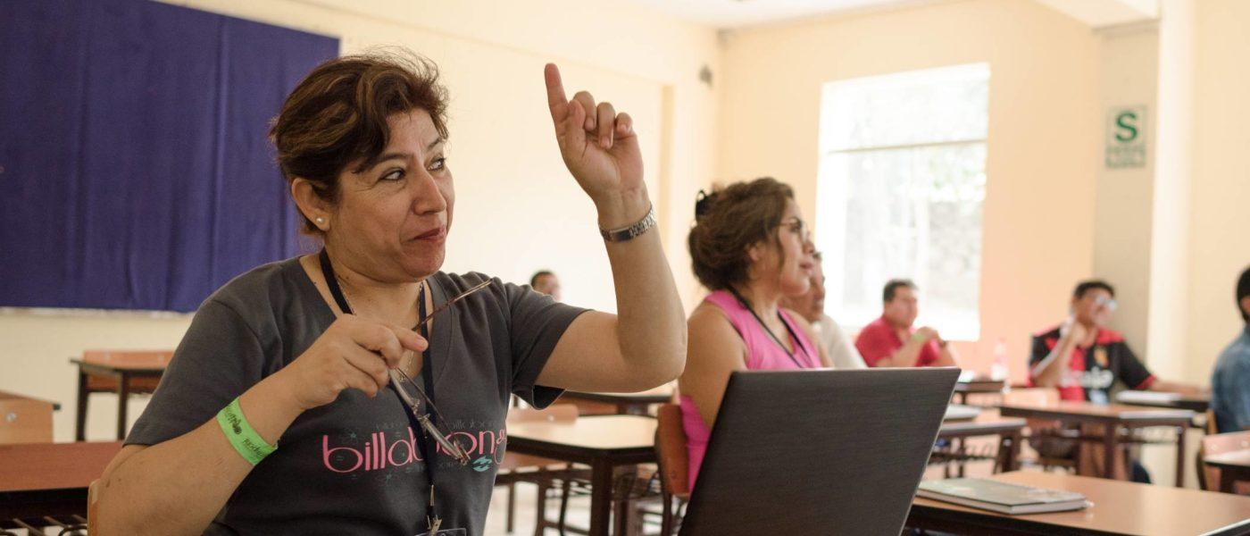 Cursos abiertos para jóvenes en Perú