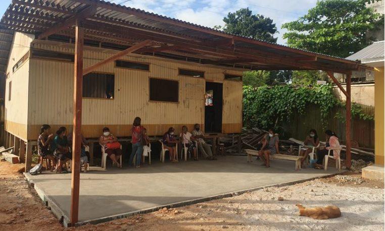 Voluntarios Telefónica ayudan al centro de salud Bellavista en la propagación de la pandemia y el dengue en Pucallpa