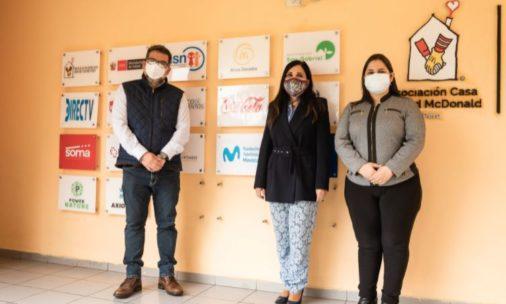Casa Ronald McDonald reconoce a Voluntarios Telefónica Perú como un aliado estratégico